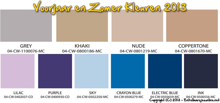 kleuren fashion